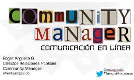 """Mercadexpo 2012 - """"Community Manager: Comunicación en línea"""""""