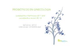 Copy of PROBIOTICOS EN GINECOLOGIA