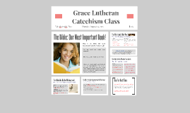 Catechism Lesson 1- The Bible