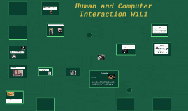 Human and Computer Interaction W1L1