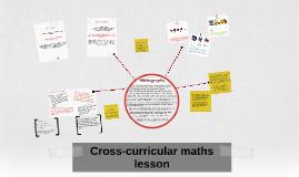 Cross-curricular maths lesson