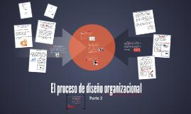 El proceso de diseño organizacional (parte 2).