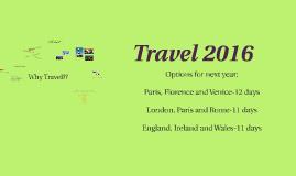 Travel 2016