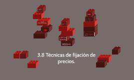 Técnicas de fijación de precios.