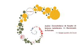 Análise :Termodinâmica de Reações de Reforma Autotérmica via