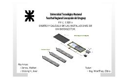Copy of Diseño y cálculo de las instalaciones de un biodigestor.