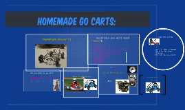 Homemade Go Carts:
