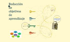 Copy of Redacción de objetivos de aprendizaje