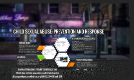 CSA: Prevention and Response