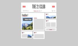 THE 2:1 CLUB