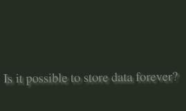 Silicon glass for data storage