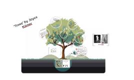 'Trees' by Joyce Kilmer
