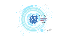 [INGLÊS] General Electric Trainee Report