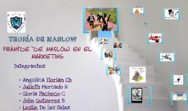 Pirámide de Maslow en Marketing