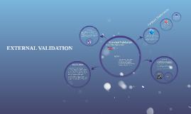 External Validation