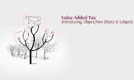 Taxation 2 - Value Added Tax 1 (LP3i)