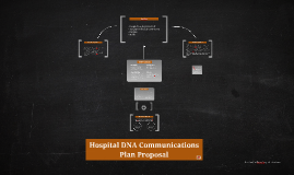 Copy of Hospital DNA Communications Plan Proposal