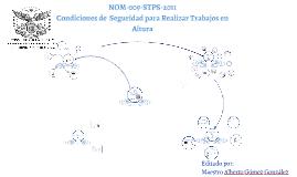 NOM-009-STPS-2011