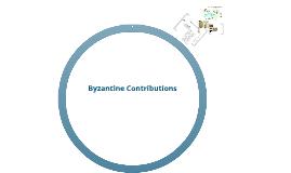 Copy of Byzantine Contributions