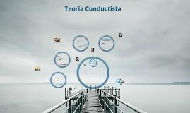 Teoría Conductistas