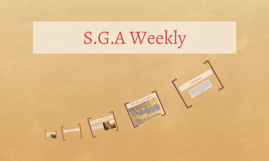 S.G.A Weekly