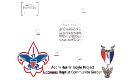Adam Harris; Eagle Project