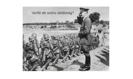 Varför ett andra världskrig?
