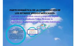 PARTE DOGMÁTICA DE LA CONSTITUCIÓN POLÍTICA DE LOS ESTADOS UNIDOS MEXICANOS