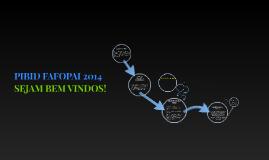 PIBID FAFOPAI 2014