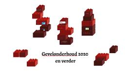 Gevelonderhoud 2020 en verder