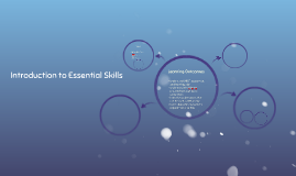 Introduction to Essential Skills
