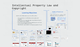 Intellectual Property Law and Copyright