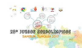 SORDOLÍMPICOS 2017