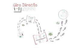 GIRO DIRECTO