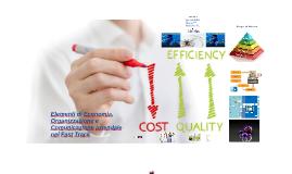Copia di Elementi di Economia, Organizzazione e Comunicazione aziendale nel Fast Track