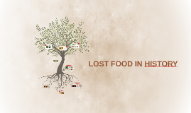 LOST FOOD IN HISTORY