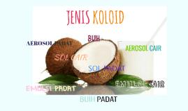 JENIS KOLOID