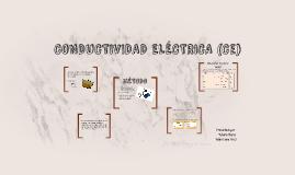 CONDUCTIVIDAD ELÉCTRICA (Ce)