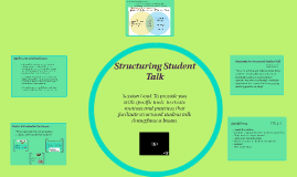 Structuring Student Talk