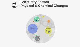 Chemistry Lesson 3