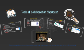 Collaborative Tools Showcase