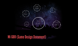 GDD (Game Design Document)