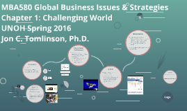 MBA580 Chapter 1