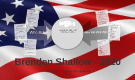 BRENDEN SHALLOW 2020