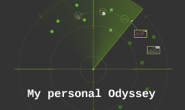 My personal Odyssey