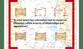 To what extent has colonialism had an impact on Ghanaian cult