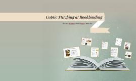 Coptic Stitching & Bookbinding