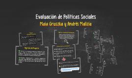 Evaluación de Políticas Sociales