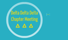 Copy of Chapter Meeting