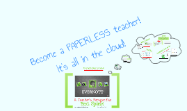 Evernote- A Teachers Perspective